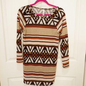 Long sleeve print dress from Shop the Mint